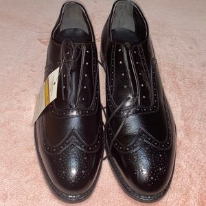 RARE Lehigh Safety Shoes Oxford Wingtip Steel Toe